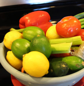 Veggies for Summer Soup